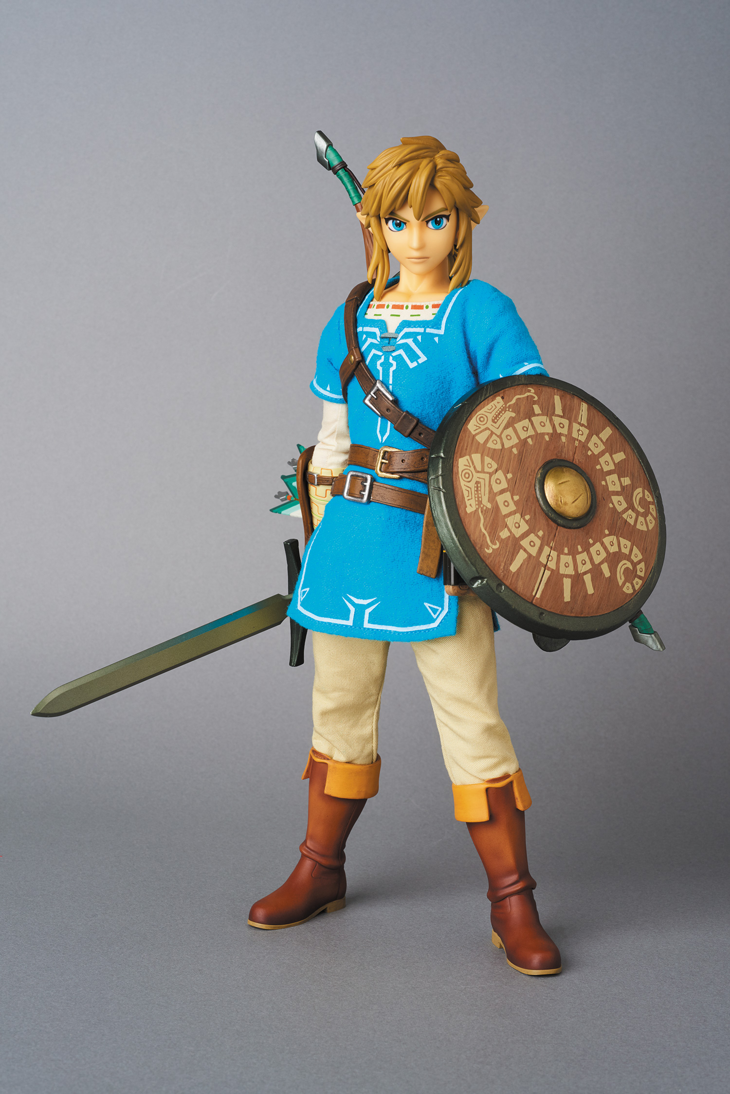Now that is one fancy-looking Link figurine. The Real Action Heroes The Legend of Zelda 1/6 Scale Action Figure Link Breath of the Wild Ver. has released ... & Real Action Heroes The Legend of Zelda 1/6 Scale Action Figure: Link ...