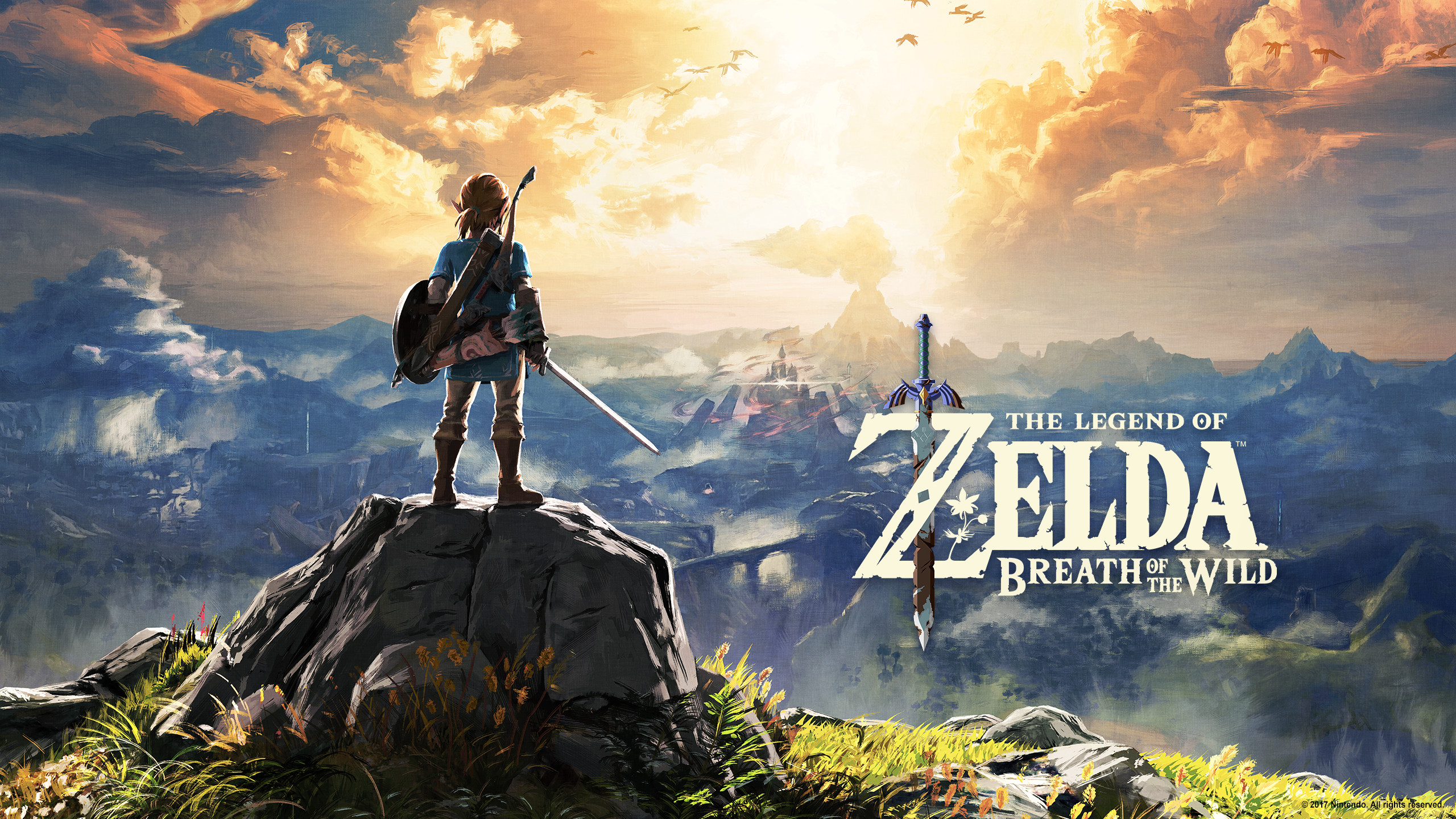 Much Like They Did With Another Game A Couple Weeks Ago Nintendo Is Sending Out Emails To Zelda Breath Of The Wild Players That Include A Free Wallpaper