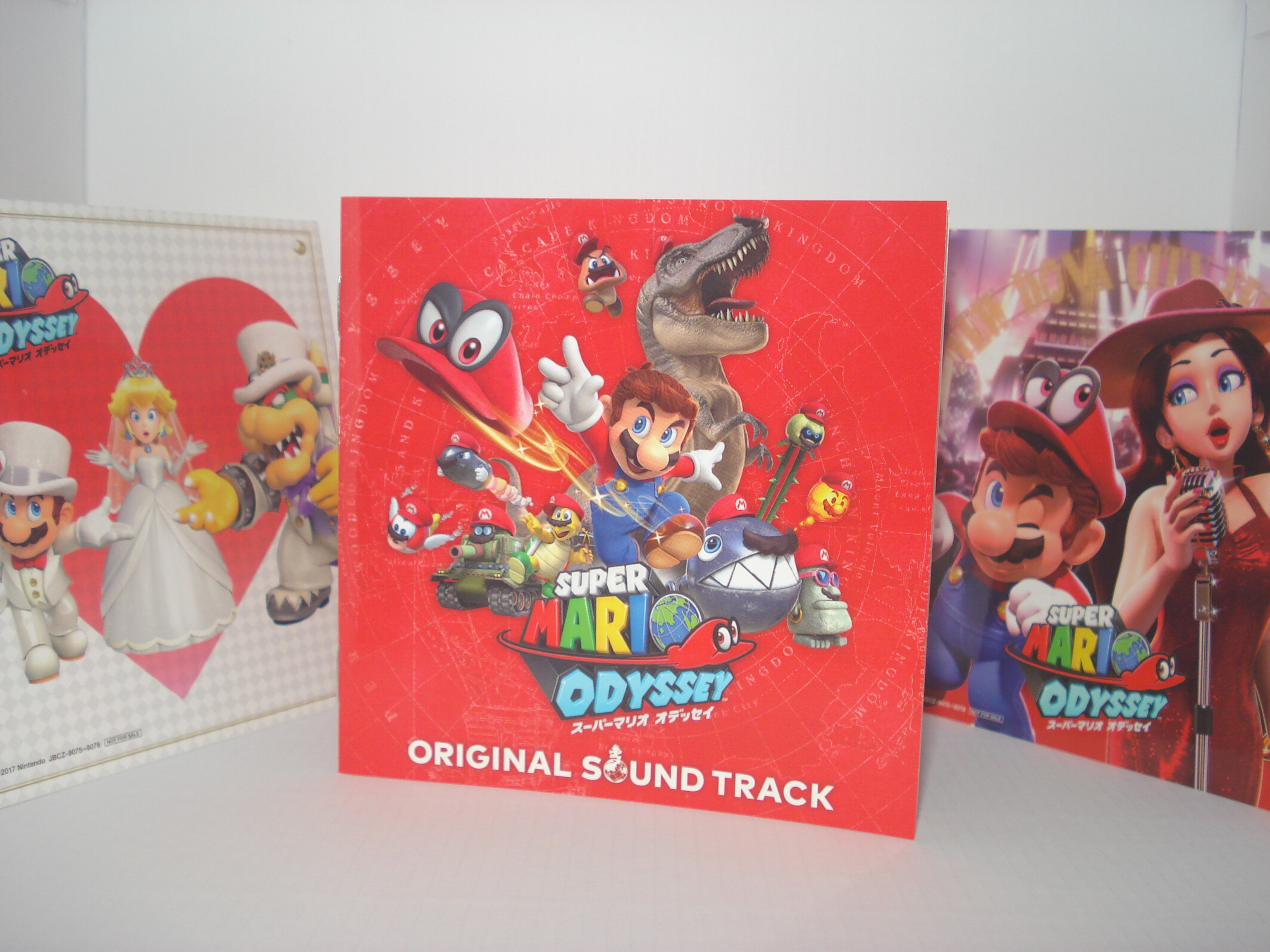 Super Mario Odyssey original soundtrack - Another round of