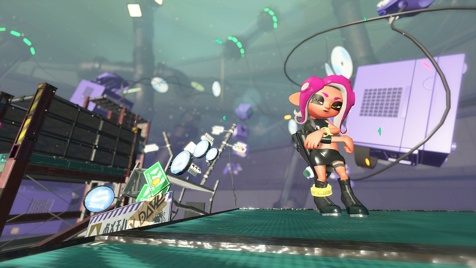Splatoon 2 Octo Expansion Sneaks In Gamecube Game Boy Color