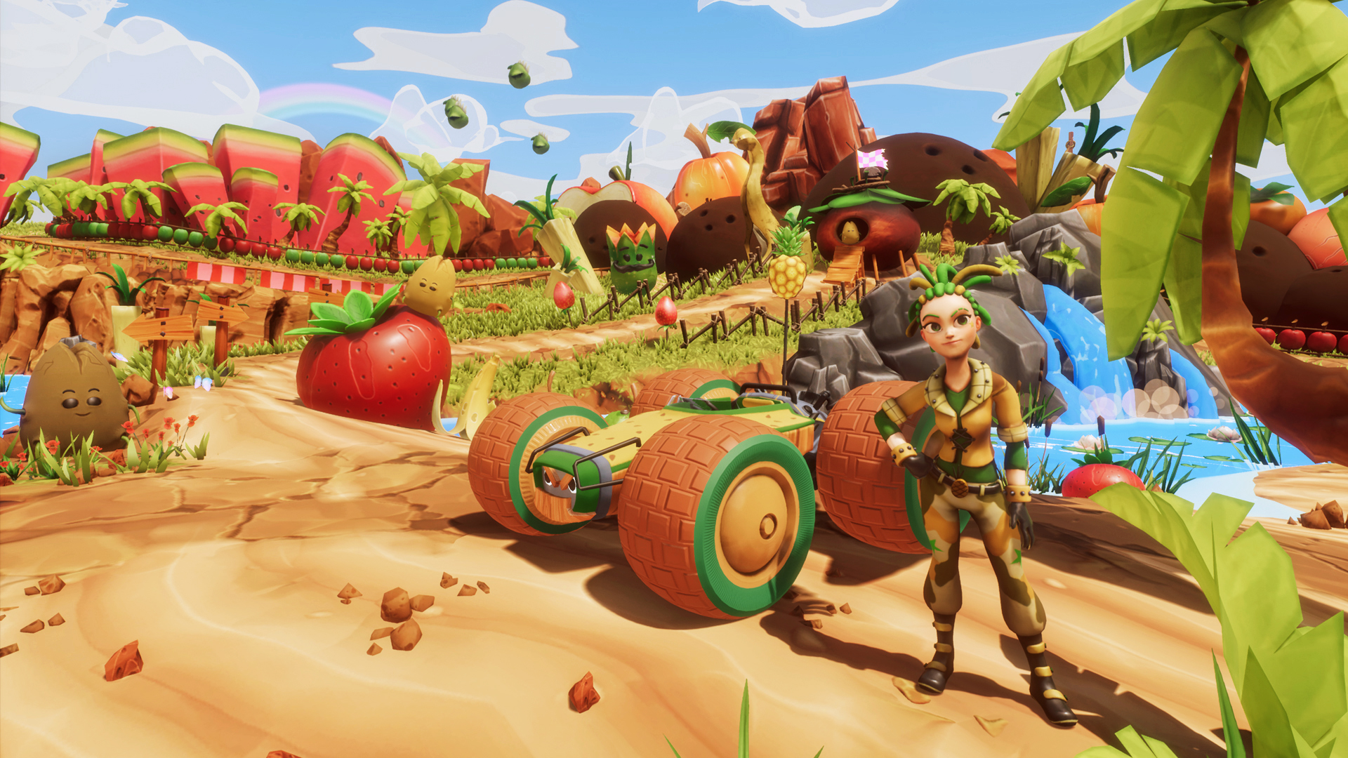 a5255b4c614b All-Star Fruit Racing is the kart racing game you ve been waiting for!  Graphically stunning and incredible fun with a strategic twist that will  keep you ...