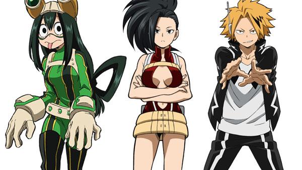 My Hero Academia One S Justice Tsuyu Asui Momo Yaoyorozu