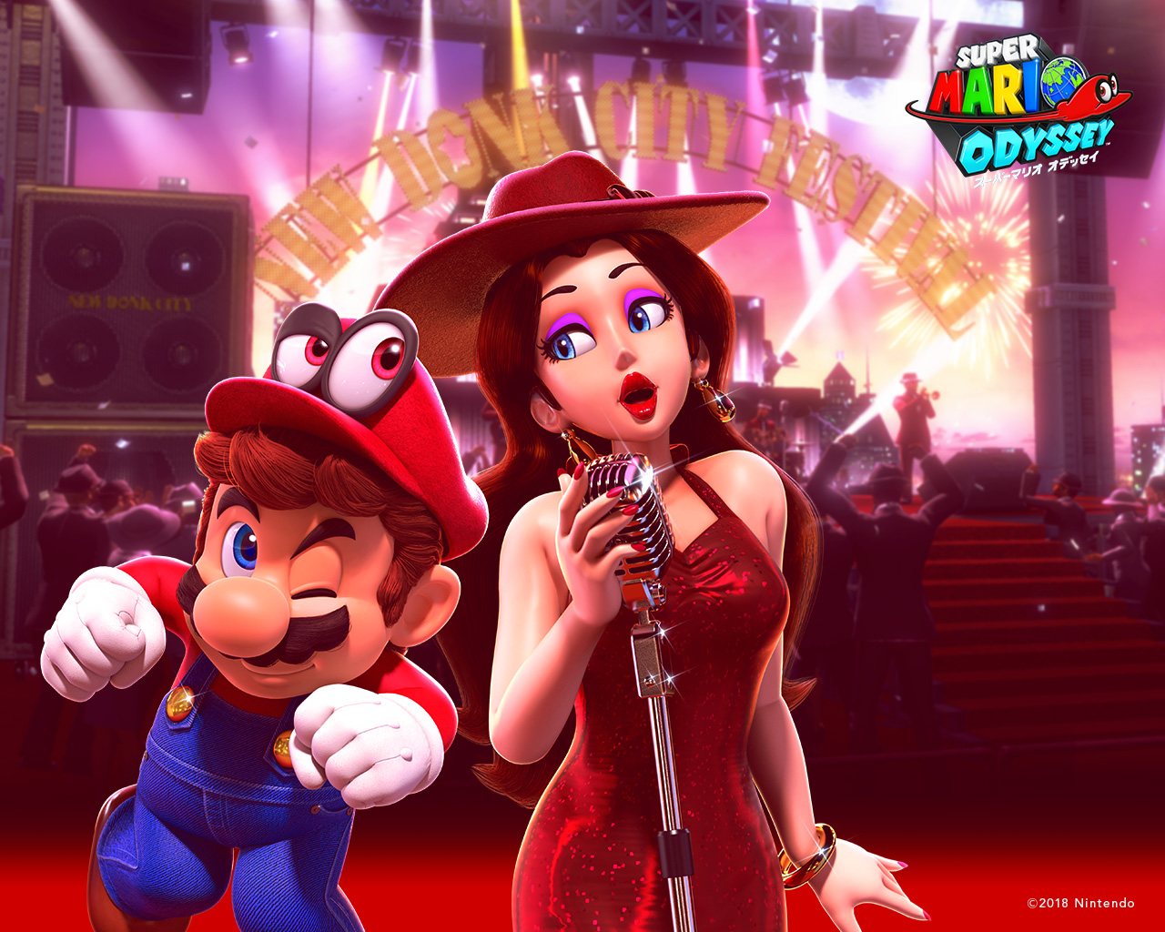 Nintendo Releases Super Mario Odyssey Happy Birthday