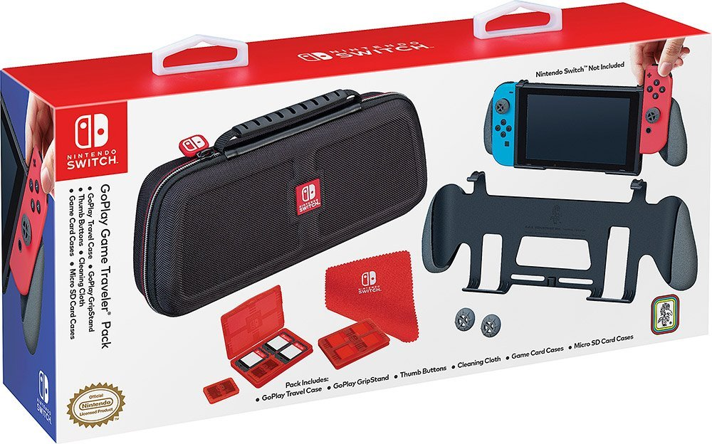 Nintendo Switch GoPlay Game Traveler Pack Unboxing and ...