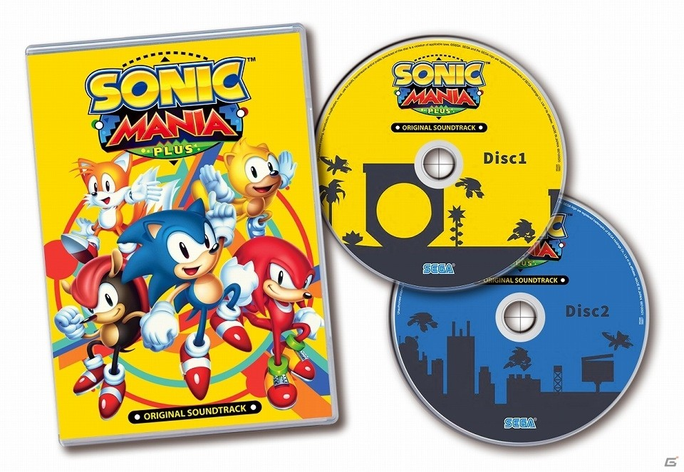 Sonic Mania Plus - Japanese 2-disc soundtrack track listing | GoNintendo
