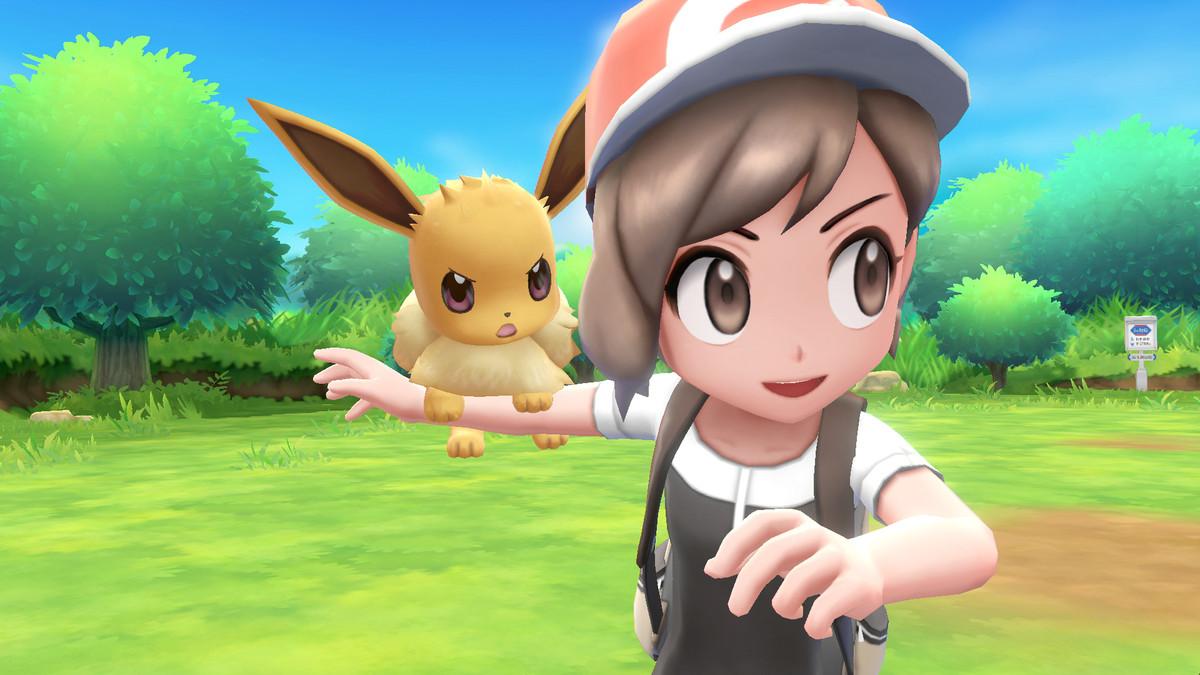 PokC mon Let s Go  Pikachu  and Let s Go  Eevee  screenshot 2.0 - How To Get Eevee On Your Shoulder Let S Go