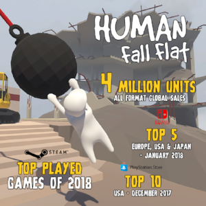 how to play multiplayer on human fall flat xbox one
