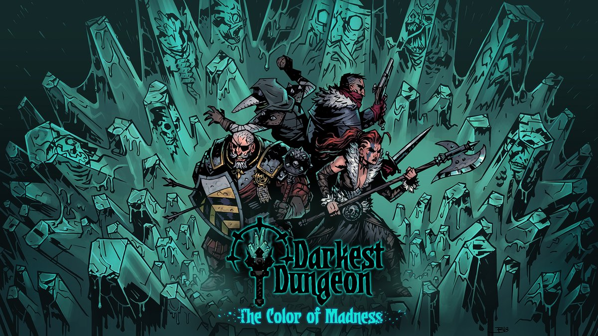 Darkest Dungeon The Color Of Madness Dlc Going Through Switch