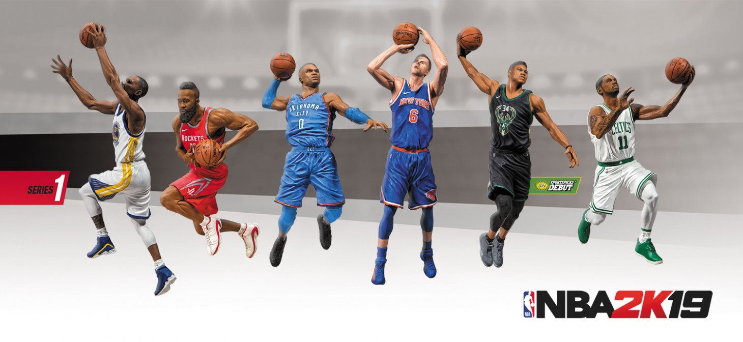177be71d0b29 McFarlane Toys is creating a line of action figures for use with NBA 2K19.  The figures will include Locker Codes to use in NBA 2K19 s MyTeam mode.
