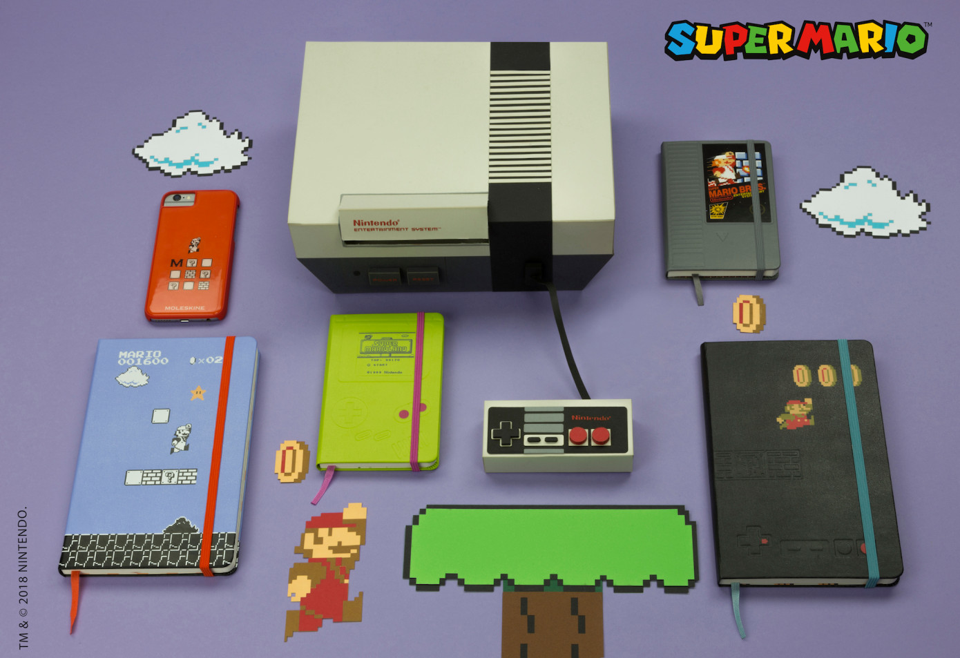 How about a backpack that pays tribute to the NES  Well Moleskine has you  covered d0802e6e561c6