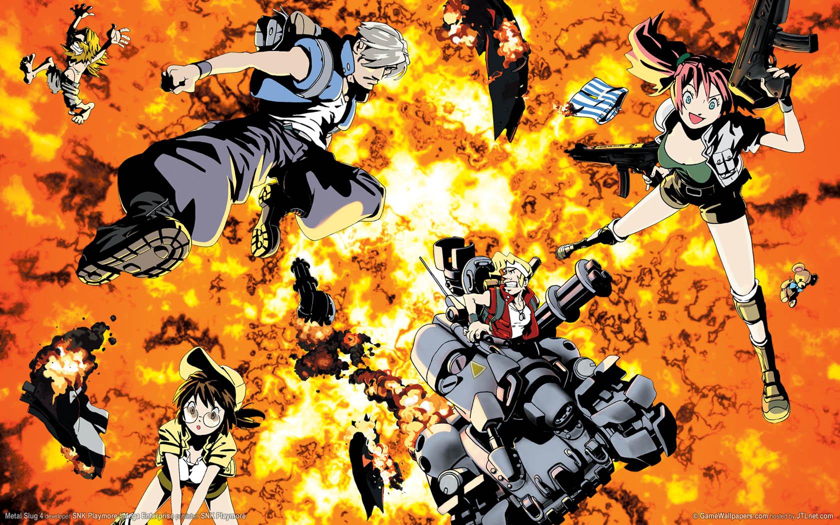 Metal Slug Anime Character Wwwtopsimagescom