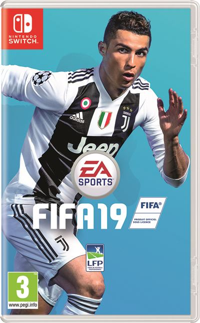 16d8cbfe473 The FIFA 19 cover for Switch has gotten an update. The cover still features Cristiano  Ronaldo