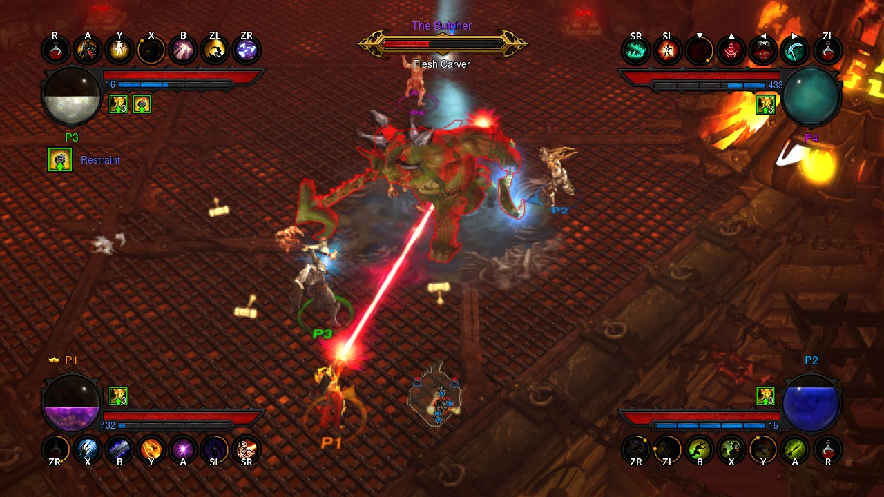 Diablo III: Eternal Collection is less than half the size of
