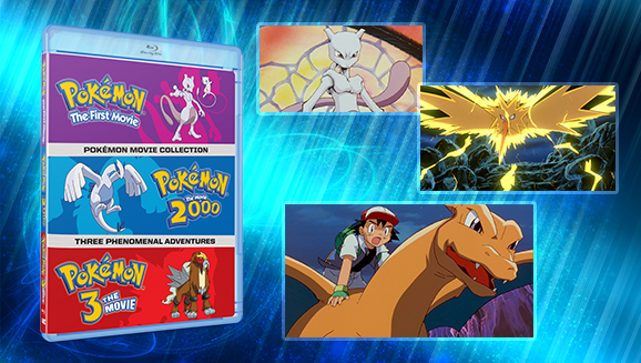 A Trio Of Classic Pokemon Big Screen Adventures Arrives On Dvd And