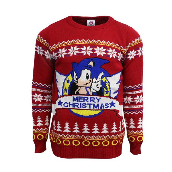 Crash Bandicoot Christmas.Numskull Reveals Geeky Xmas Sweaters For Sonic Spyro Crash
