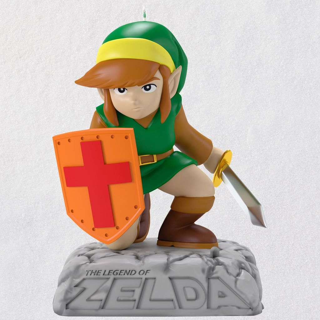 The Legend of Zelda Link Ornament With Sound available through ...