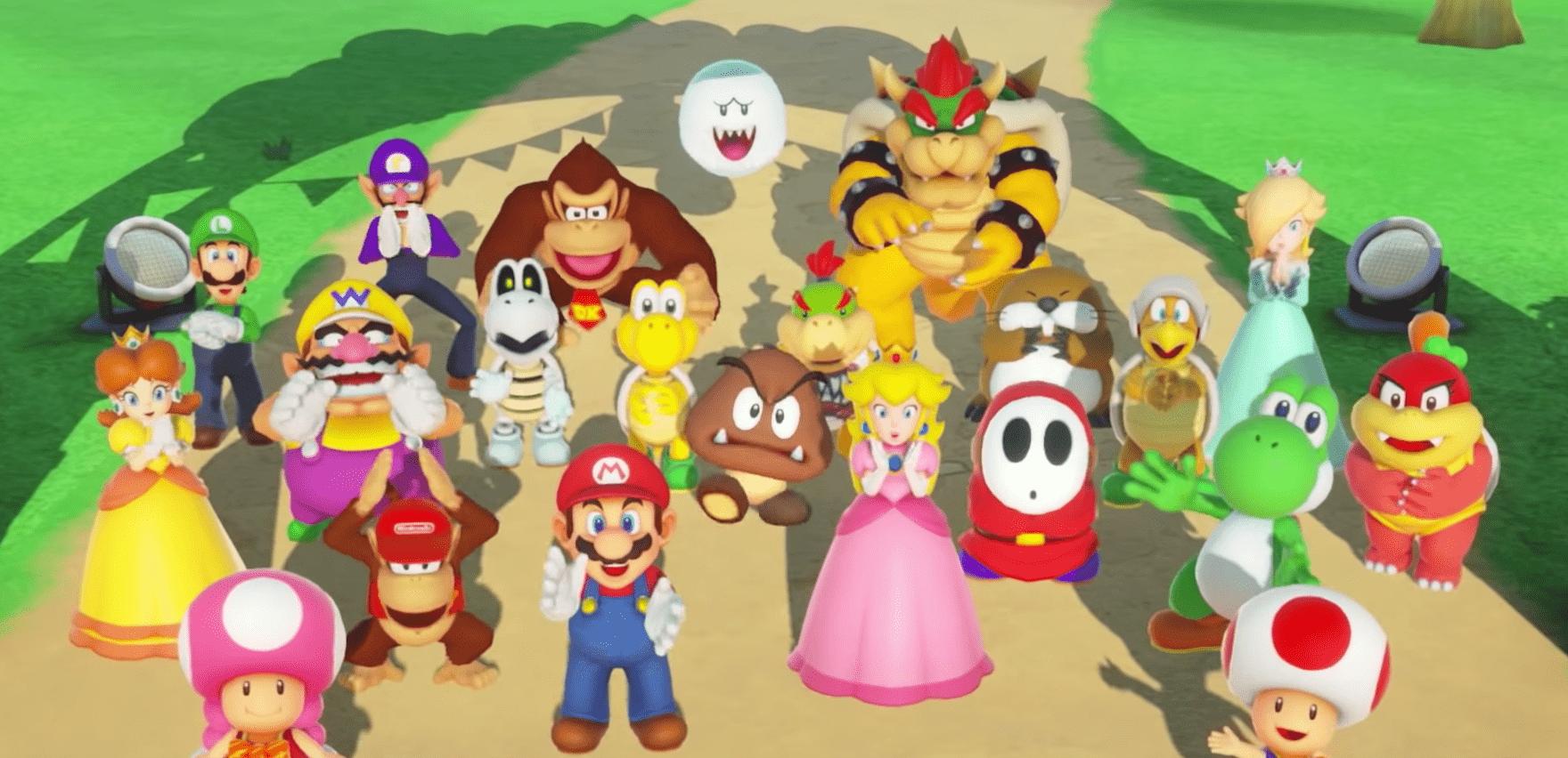 Amazon Lists Super Mario Party Joy Con Bundle For Release In