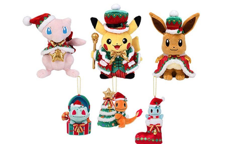 Christmas Eevee.Pokemon Center Christmas 2018 Merch Lineup Revealed Gonintendo