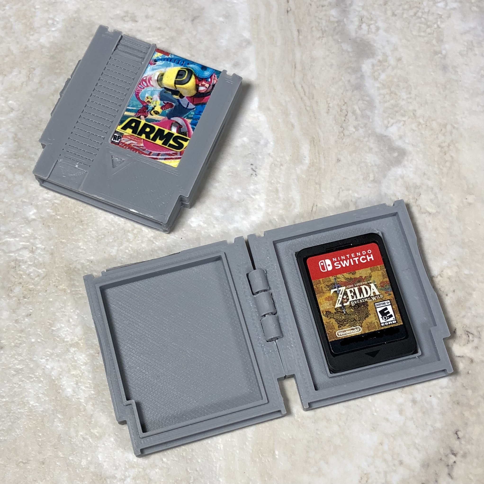 Fan Art Custom Nes Snes Cases To Store Your Switch Game Cards Gonintendo
