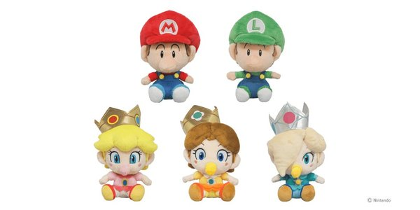 Sanei Super Mario All Star Babies