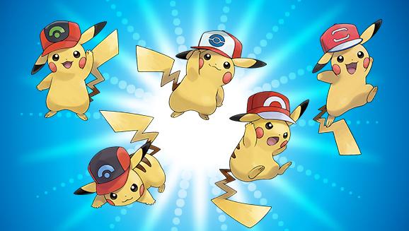 Get Pikachu Wearing Ash's Hats in Pokemon Ultra Sun/Ultra