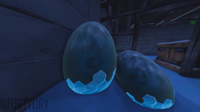 Mysterious eggs discovered in Fortnite | GoNintendo