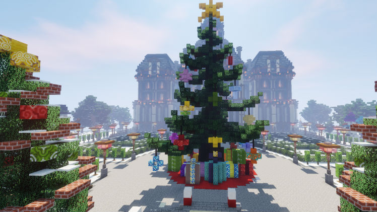 Christmas Minecraft World.Mojang Shares A Look Back At Minecraft In 2018 Gonintendo