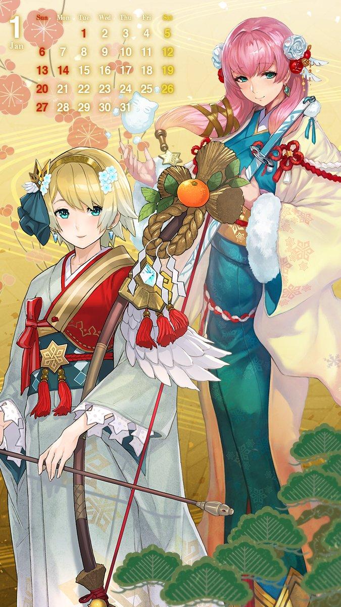 Fire Emblem Heroes Fjorm And Gunnthra Mobile Wallpaper Gonintendo