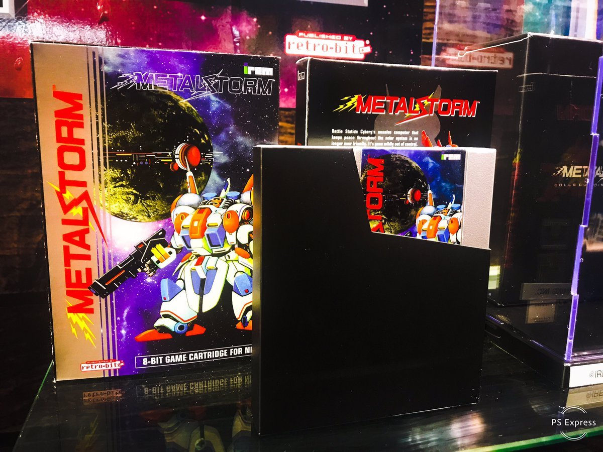 Retro-Bit to sell new copies of the classic NES game Metal