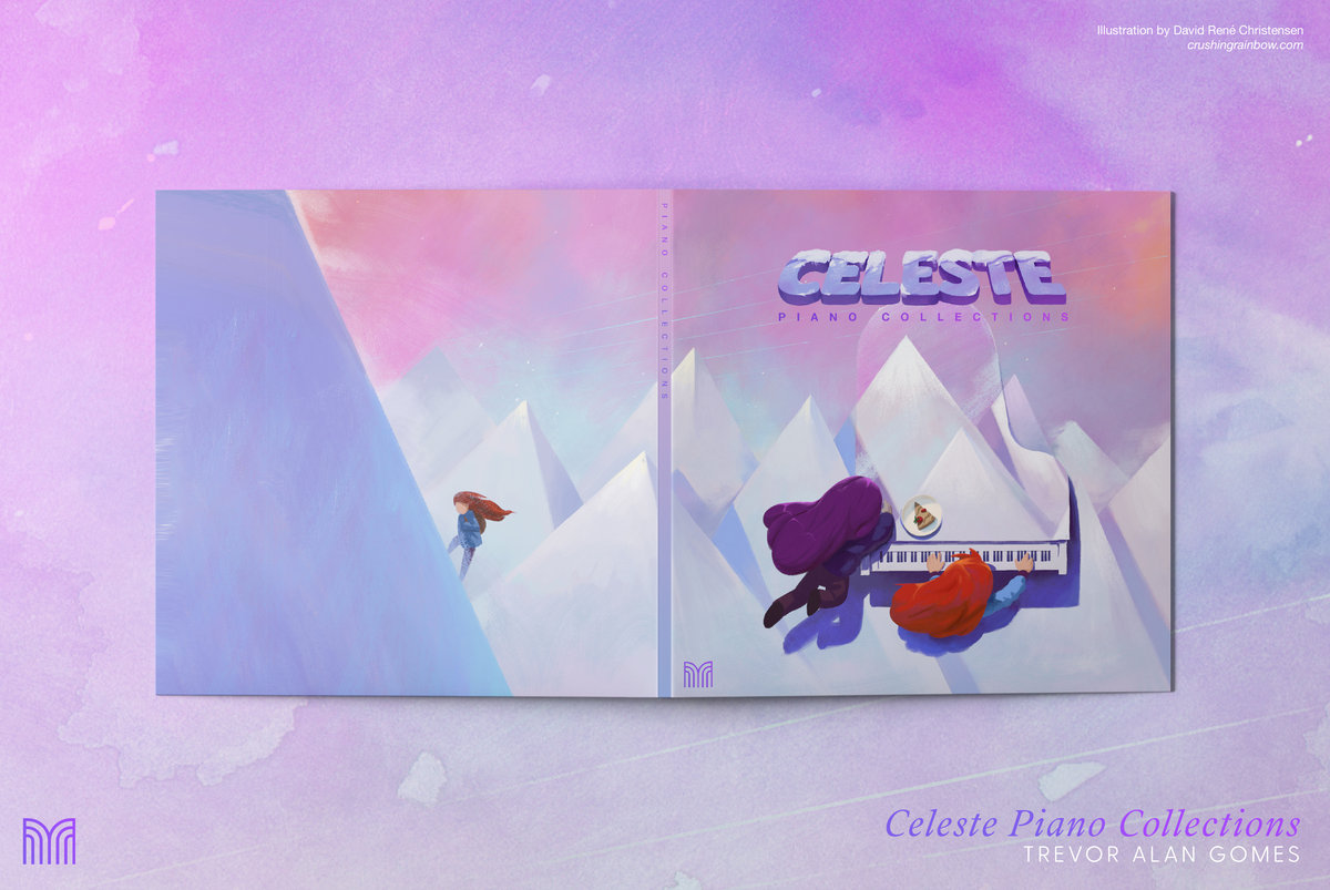 Celeste Piano Collections album releases Jan  25th, 2019