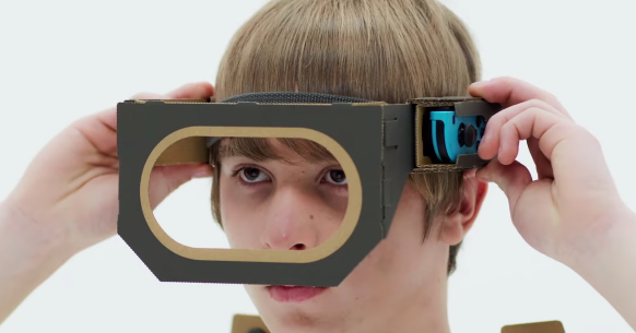 RUMOR - Next Nintendo Labo release to include VR support