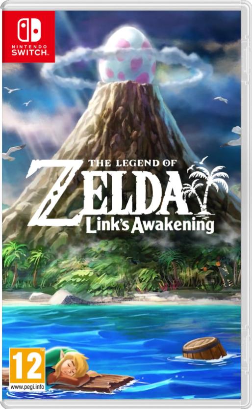 """Image result for Legend of Zelda Link's Awakening cover switch"""""""