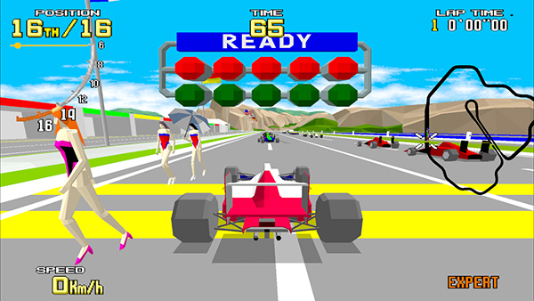 SEGA AGES: Virtua Racing to include one-vs-one online, local
