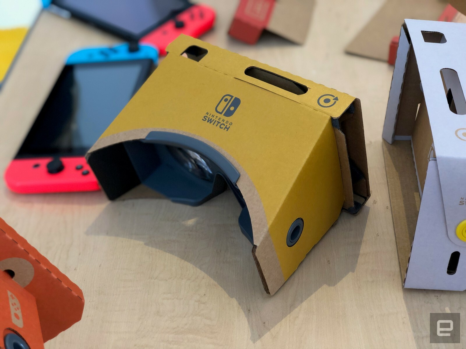 Get a walkthrough of all Nintendo Labo: VR Kit's games and features