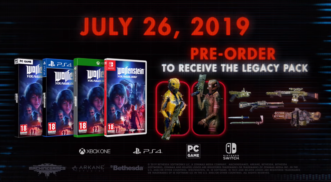 Wolfenstein: Youngblood Release Date Revealed in New Story Trailer