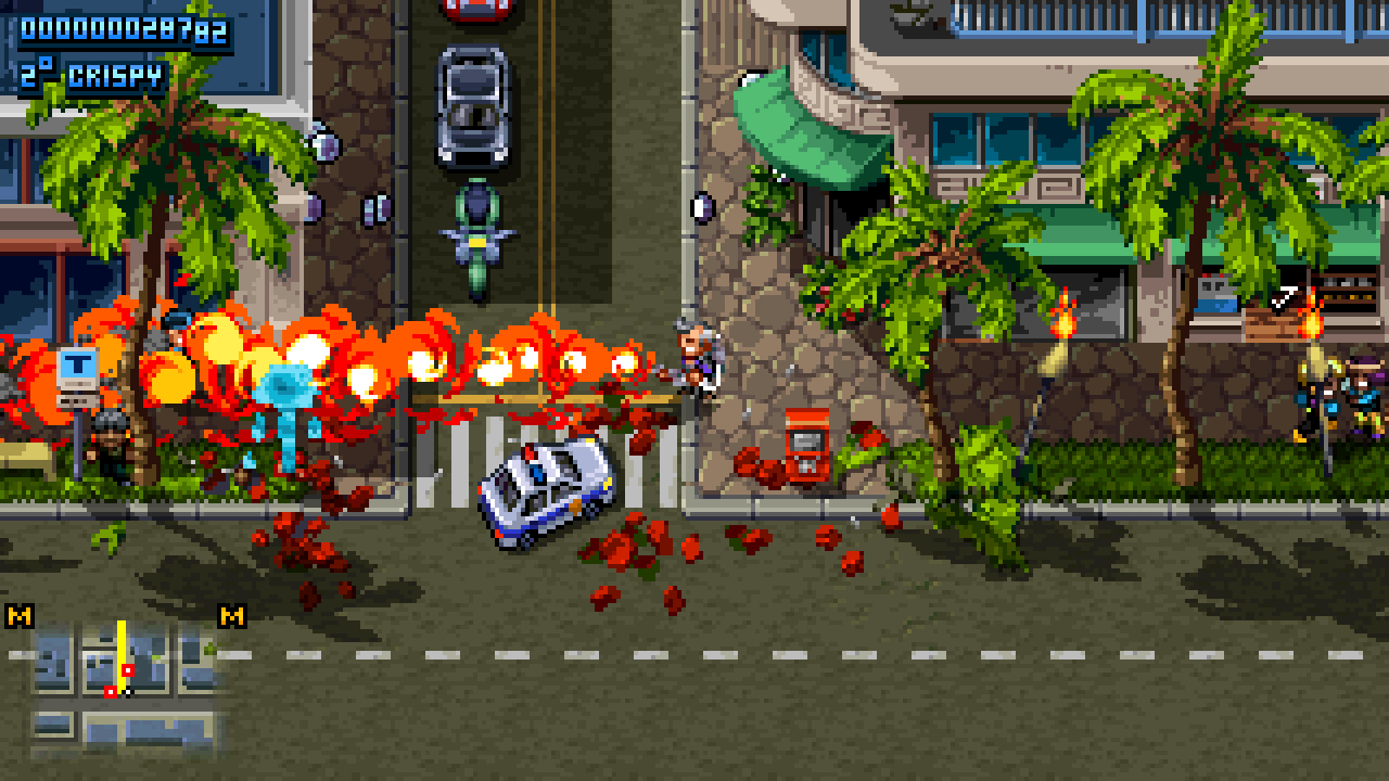 Shakedown Hawaii hits Switch on May 7th, 2019, 3DS version