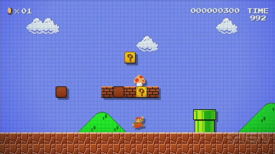 Nintendo Explains Super Mario Maker's release date (Sept. 11th, 2015)
