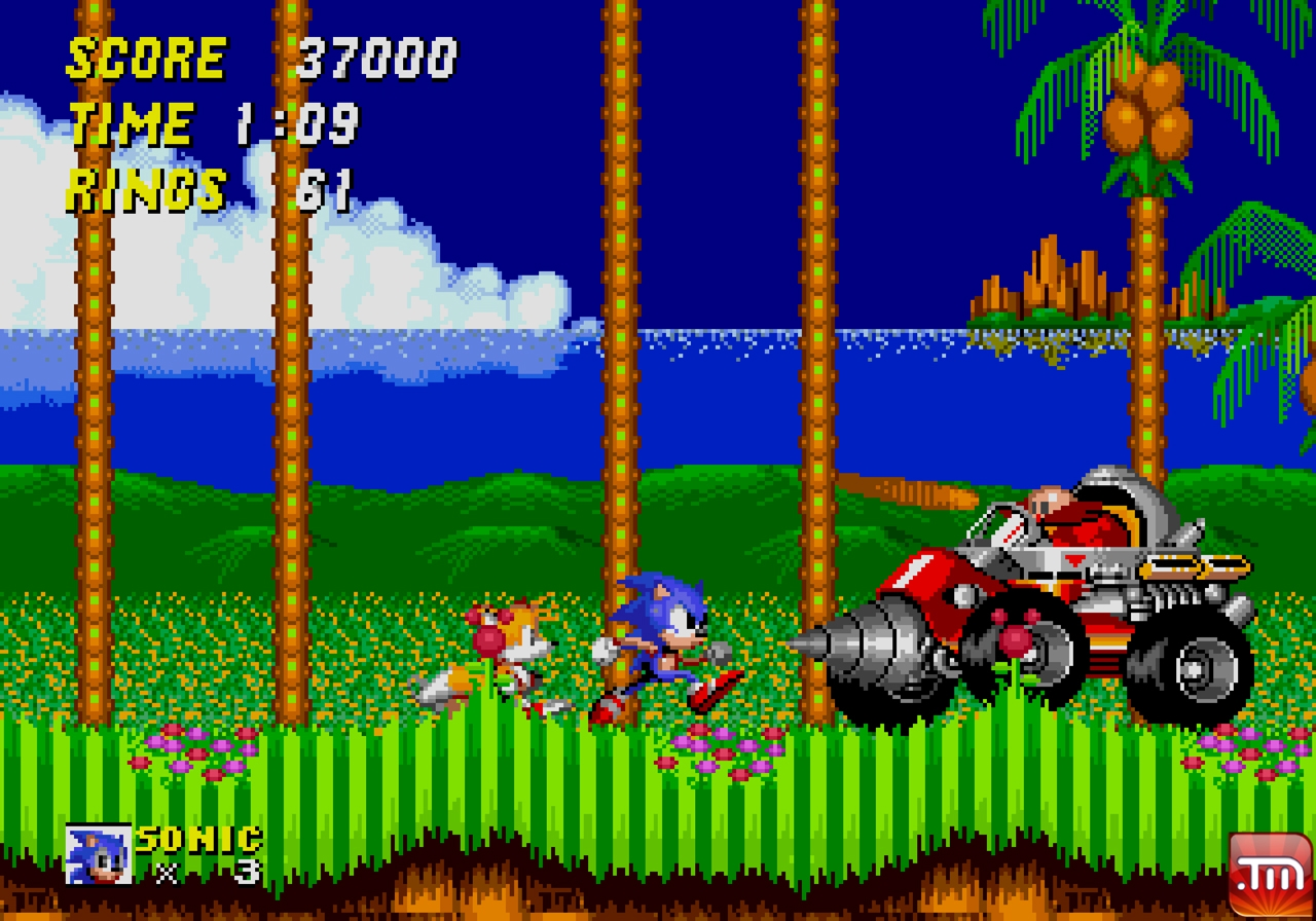 3d sonic the hedgehog 2 details on ring keep mode