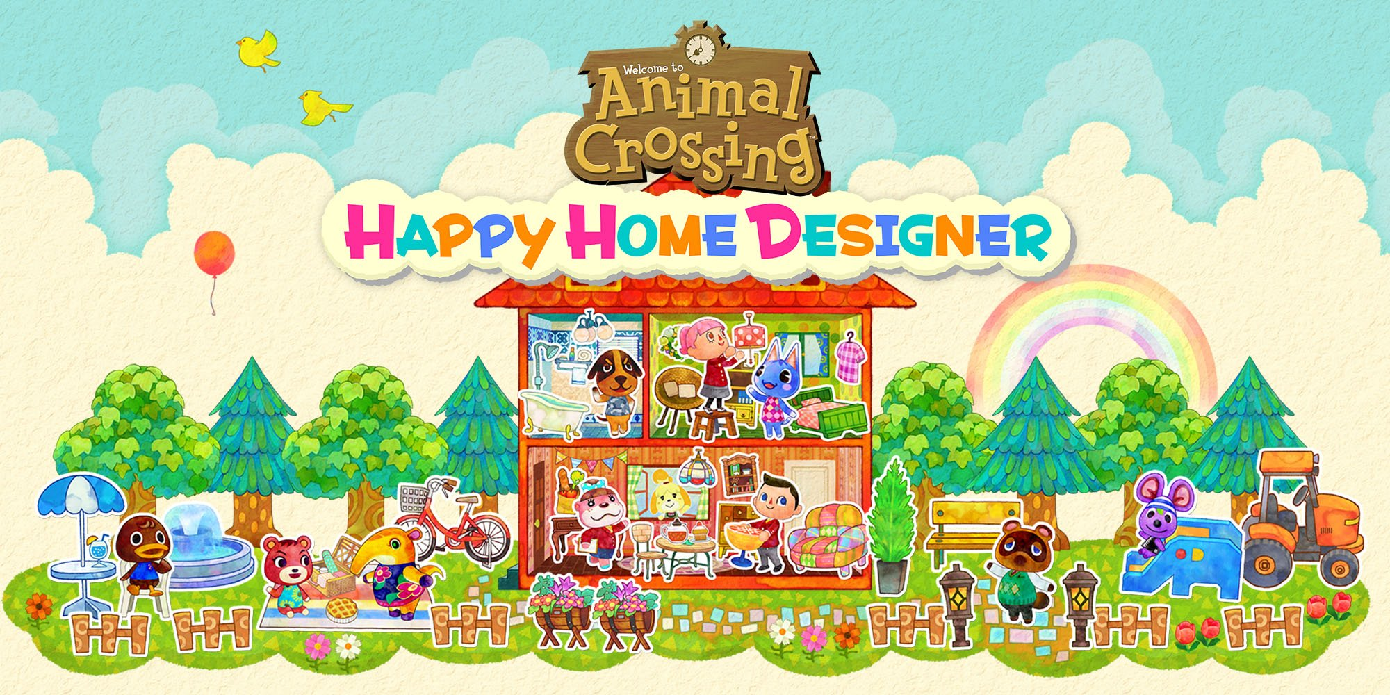 Positively Pixels Art, Video Games, And All That Jazz: Blog #10 Animal  Crossing Happy Home Designer Review