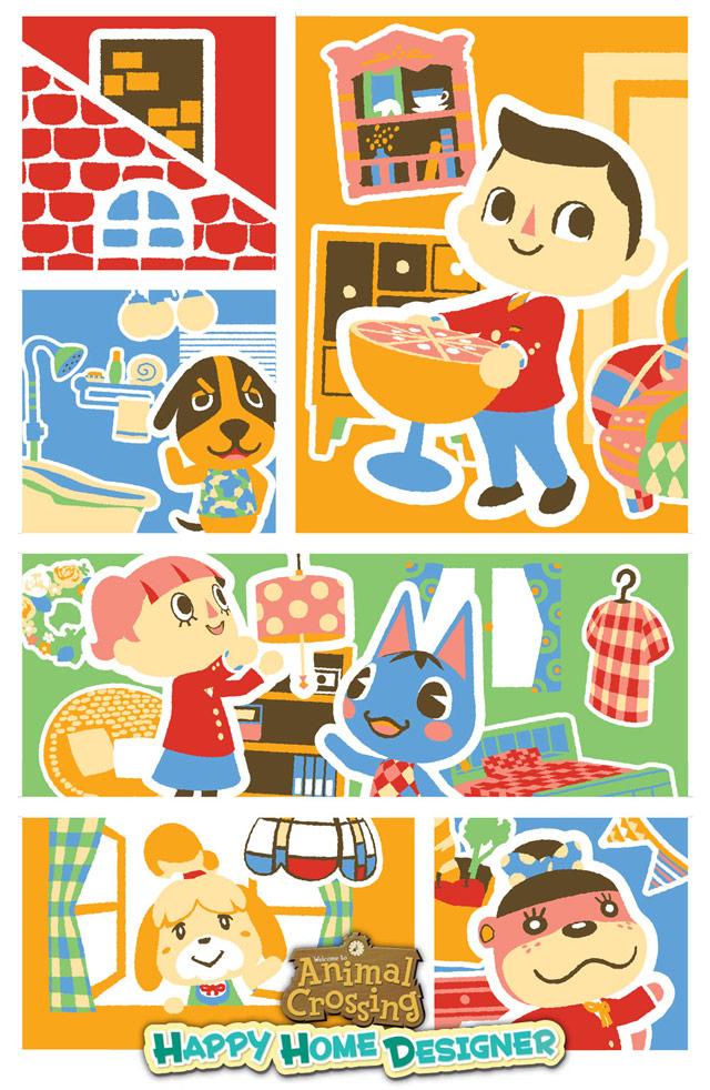 Animal Crossing Happy Home Designer Site Gamestop Com