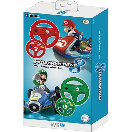 Amazon - Wii U Racing Wheel Set Up For Pre-order
