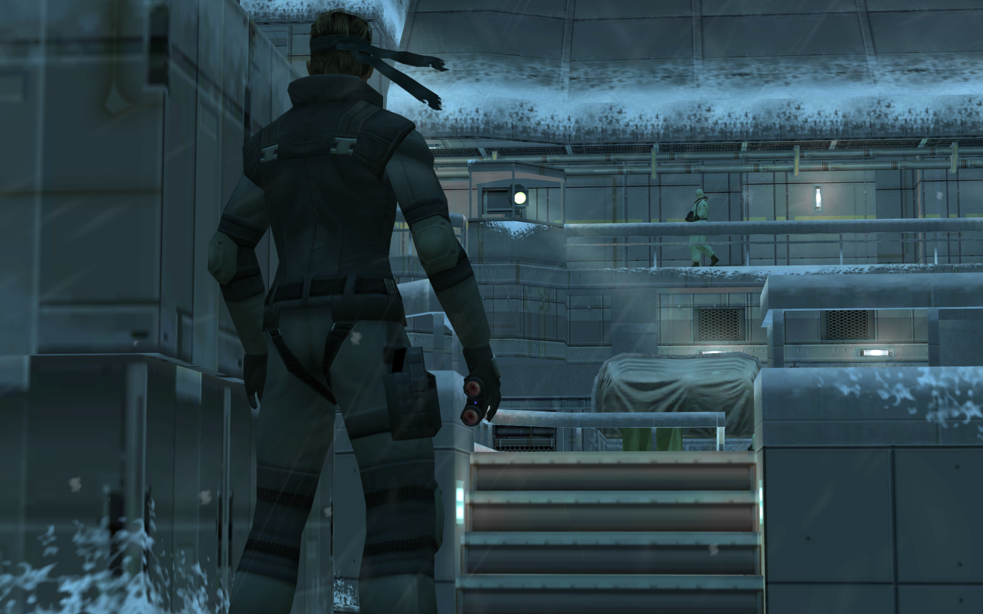 metal gear solid 1 wallpaper hd