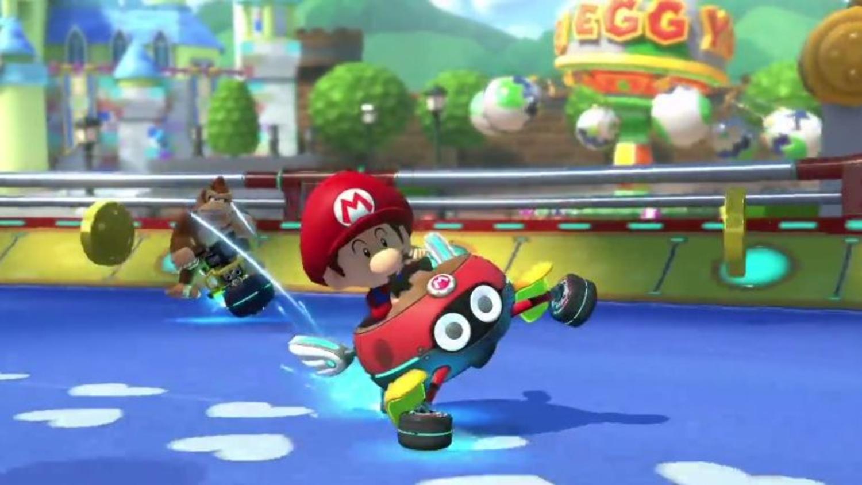 Baby Mario Mario Kart 8: Mario Kart 8 Deluxe - Baby Park Footage