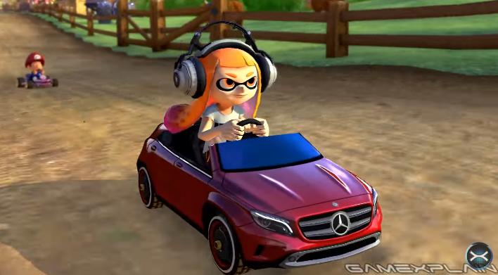 Mario Kart 8 Deluxe Release Date >> Mario Kart 8 Deluxe - All Mercedes-Benz DLC Karts | GoNintendo