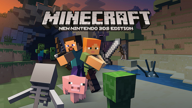 Minecraft: New 3DS Edition - more info, no online, local