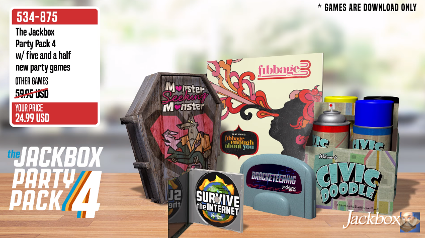 Jackbox Games Launches 'The Jackbox Party Pack 4' | GoNintendo