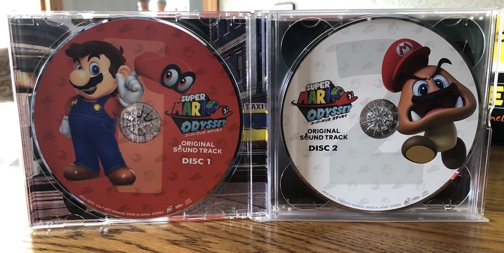 Another look at the Super Mario Odyssey original soundtrack