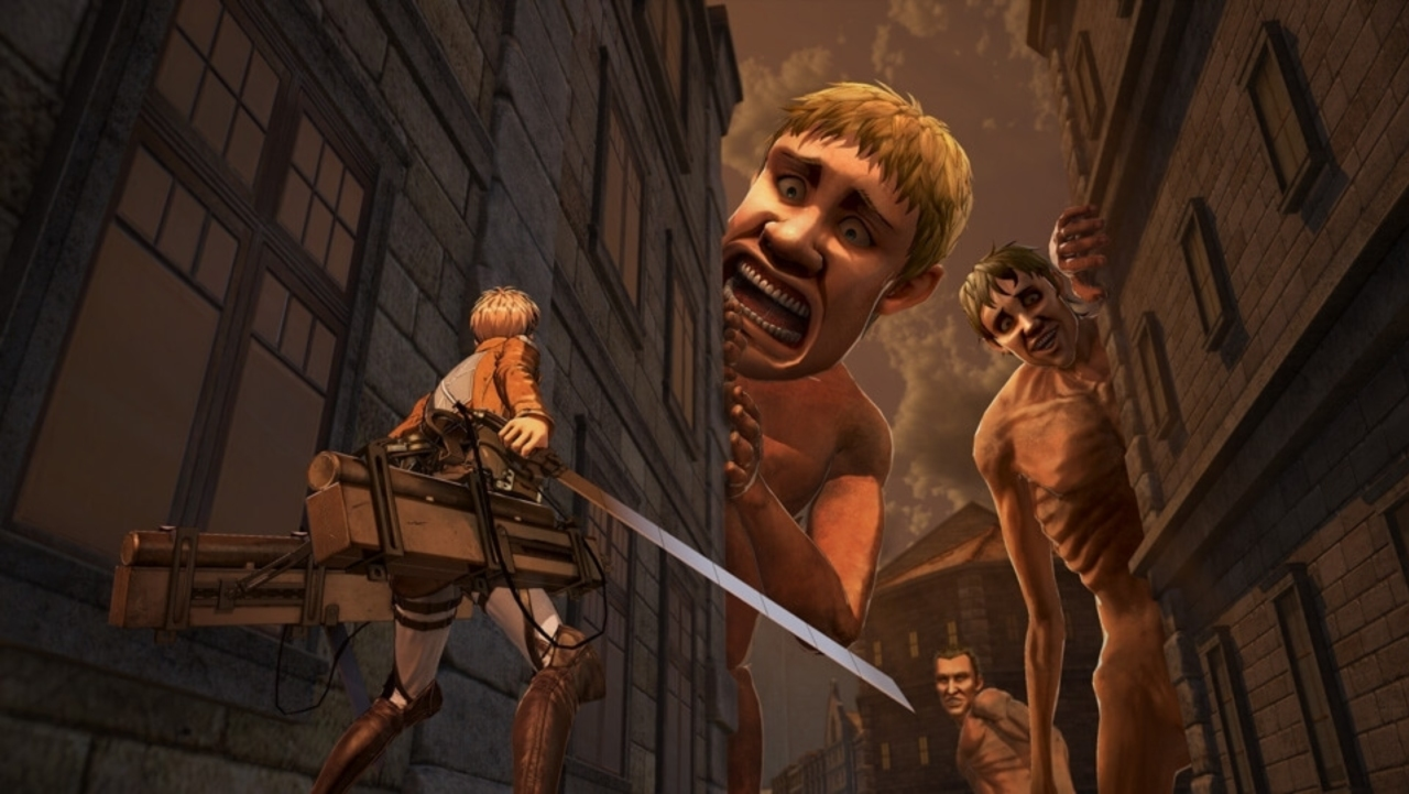 Attack on Titan 2 - character creation footage, more ...