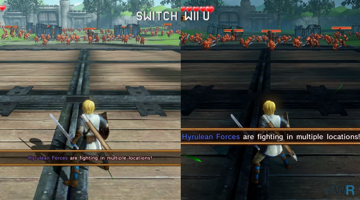 Hyrule Warriors Switch Vs Wii U Graphics And Framerate Comparison Gonintendo