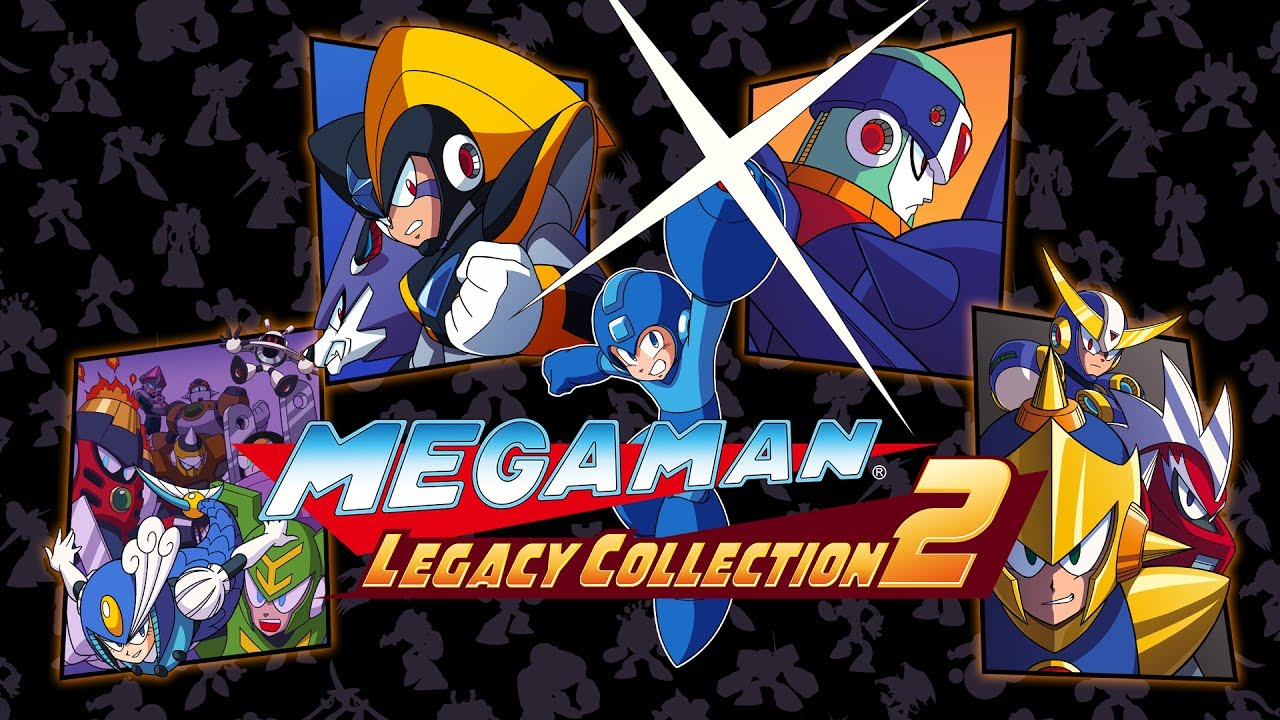 Some Mega Man Legacy Collection 1 & 2 physical copies
